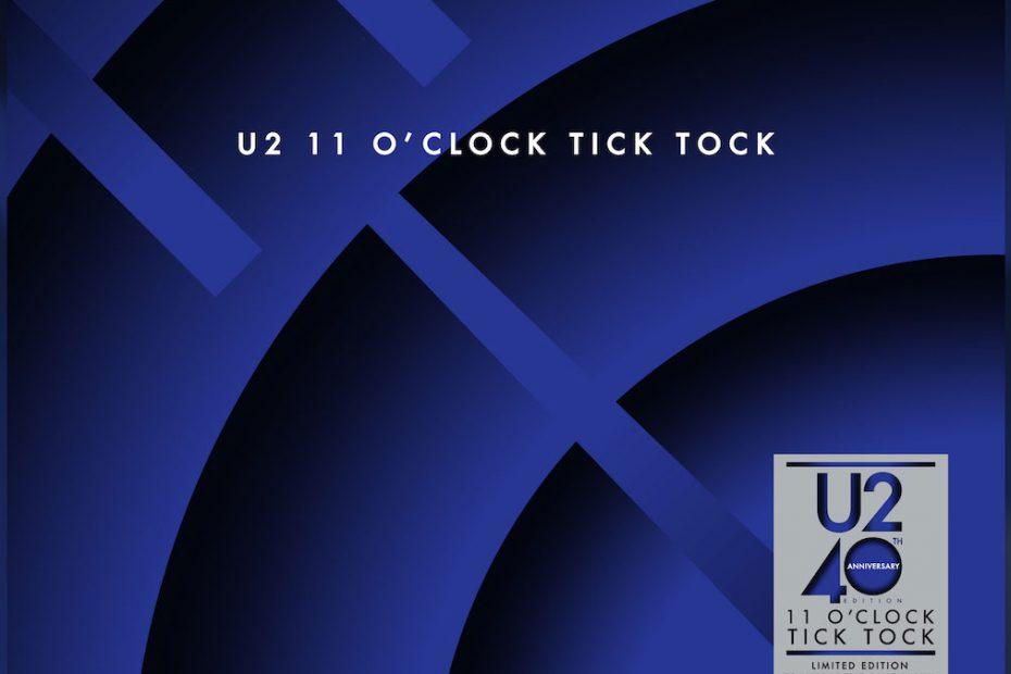 """11 O' Clock Tick Tock"", 40 årsutgåva (foto: u2.com)"