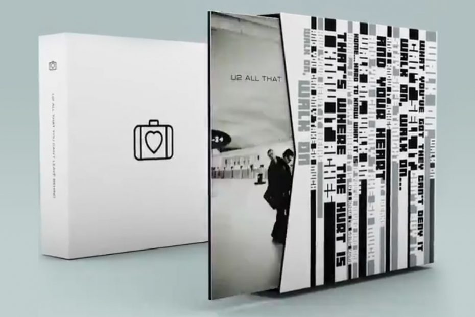 """""""All That You Can't Leave Behind"""" jubileumsbox (foto: Twitter/U2))"""
