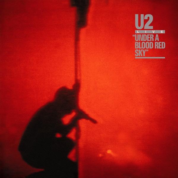 """Omslag """"Under A Blood Red Sky"""" (1983)"""